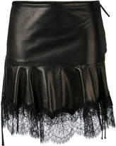 Roberto Cavalli fringed skirt