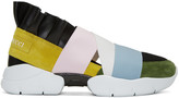 Emilio Pucci Multicolor Slip-On Sneakers