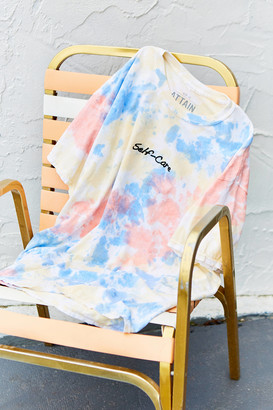 Urban Outfitters Self-Care Watercolor Tie-Dye Tee