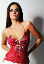 Baccio Couture - Lea Painted Top