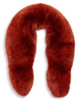 Alexander McQueen Fox Fur Collar