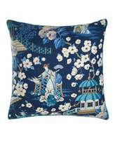 "Legacy Ming Pagoda Summer Palace Pillow, 22""Sq."