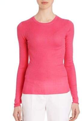 Michael Kors Fitted Cashmere Sweater
