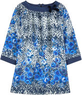 Miss Blumarine Printed twill dress