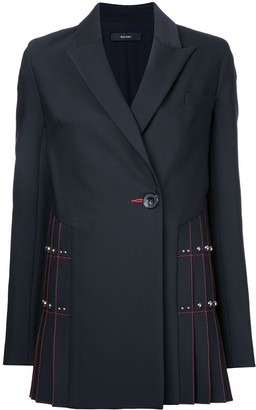 Ellery contrast blazer