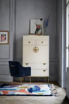 Anthropologie Brass Key Secretary Desk