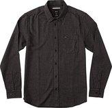 RVCA Men's That'll Do Twist Long Sleeve Woven Shirt