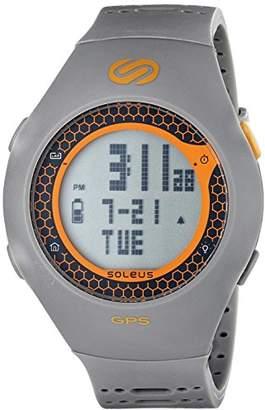 Soleus Unisex SG010-070 GPS Turbo Digital Display Quartz Watch