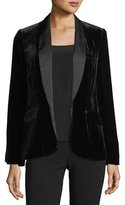 Joie Mehira B Tailored Velvet Blazer