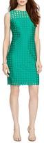 Lauren Ralph Lauren Mod Geometric Lace Dress