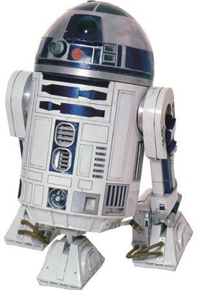 Star Wars Classic R2D2 Peel & Stick Giant Wall Decal - US/CAN/MEXICO