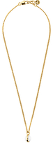 Dyrberg/Kern Dyrberg Kern Round Pendant Necklace, White Jade