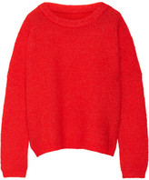 By Malene Birger Claudetta Knitted Sweater - Tomato red
