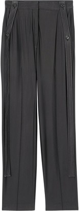 Burberry Strap Detail Tailored Trousers