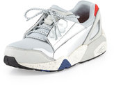 Puma Lace Disc Low-Top Sneaker, Star White Silver