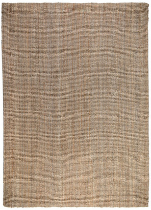 Kosas Home Annello Chunky Loop Area Rug, Soft Sand & Rich Gray, 9'x12' by Kosas H