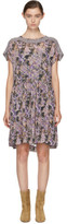 Etoile Isabel Marant Purple Jalesia Dress