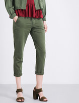 The Great Miner cropped cotton trousers