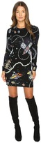 Love Moschino Out of This World Knit Dress Women's Dress
