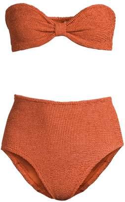 Hunza G Posey Bandeau 2-Piece Bikini Set