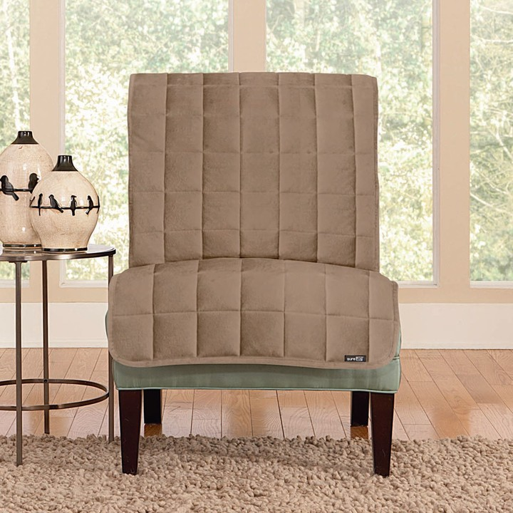 Deluxe Comfort Armless Chair Slipcover