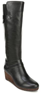 Dr. Scholl's Women's Check It High Shaft Boots Women's Shoes