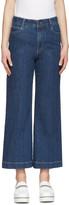 Stella McCartney Indigo Crop Flare Jeans