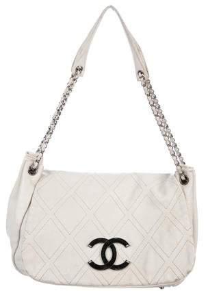 Chanel Diamond Stitch Accordion Bag