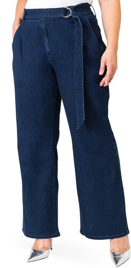 Standards & Practices Zahra Belted Denim Pants