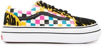 Vans Check Print Sneakers