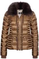 Bogner Women's Inda-D Fringe Back Puffer Jacket