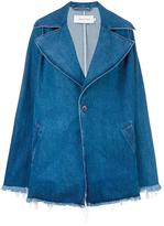 Marques Almeida Marques'almeida - oversized denim coat - women - Cotton - S