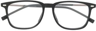 HUGO BOSS Matte-Finish Square-Frame Glasses