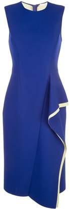 Jason Wu Collection side ruffle detail dress