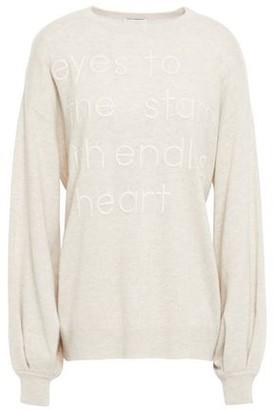 Brunello Cucinelli Embroidered Melange Cashmere Sweater