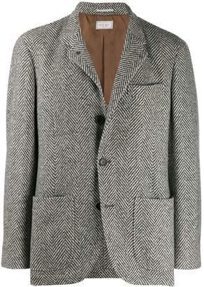 Brunello Cucinelli geometric print blazer