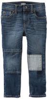 Osh Kosh Rip-&-Repair Jeans - Holiday Bright