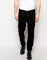 Asos Straight Jeans in Black