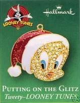 Hallmark Keepsake Ornament Putting On The Glitz Miniature Tweety Looney Tunes