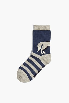 Country Road Wolf Sock