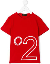 No21 Kids - logo print T-shirt - kids - Cotton/Spandex/Elastane - 6 yrs
