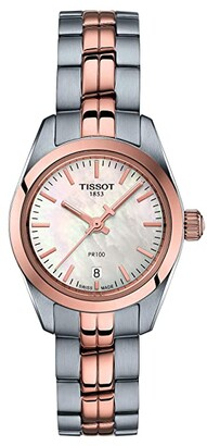 Tissot PR 100 Lady Small - T1010102211101 (Rose Gold/Silver) Watches