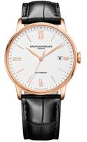 Baume & Mercier Classima 10271 18K Red Gold & Alligator Strap Watch