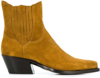 Htc Los Angeles Western ankle boots