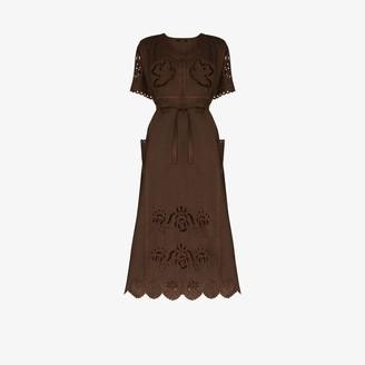 Vita Kin Love in the Air broderie anglaise linen dress