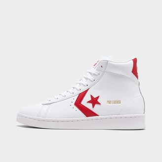 Converse Red Leather Men's Shoes | Shop