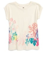 Tea Collection Girl's Sea Anemone Graphic Tee