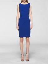 Calvin Klein Starburst Solid Sheath Dress