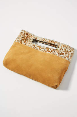 Anthropologie Tara Textured Clutch