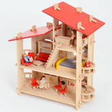 Freya Me and Wooden Doll's Villa Style House